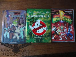Three Autographed DVDs by OtakuDude83