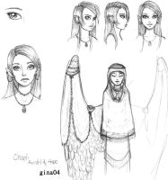 Chaeli Character Page WiP by evafortuna