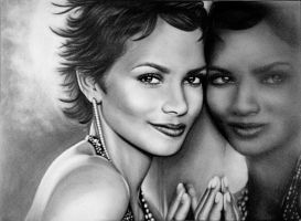 Halle Berry by Mariannaeva