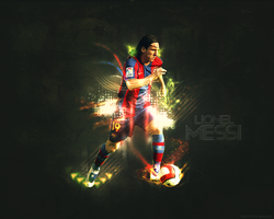 Lionel Messi Wallpaper by kingsess