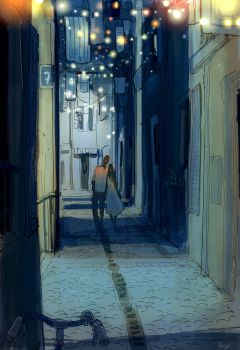 Street dwellers by PascalCampion