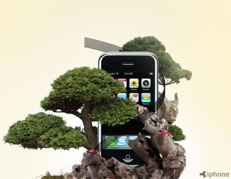 Iphone nature edition by GFXMAKE