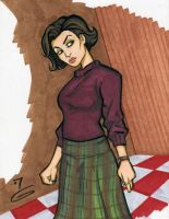 Audrey from Twin Peaks by grantgoboom