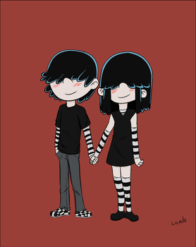 Lucy and Lars by Leonxdz