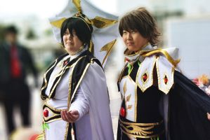 Alcon 2013 Code Geass cosplay by RenderRose