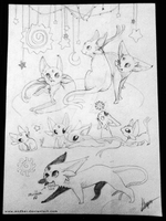 Espeon ~ by Endber