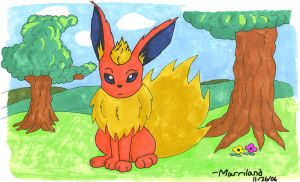 Prismacolor Marker Flareon by Marriland