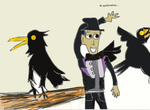 Crows and ed by Spideecartoon