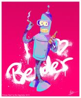 Futurama: I heart Bender by MissNeens