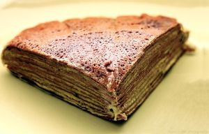 Matcha Chocolate Crepe Cake by munchinees