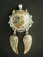 Steampunk pendant - 2 by lilvoodoo