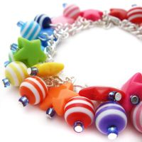 Stars+Stripes Charm Bracelet by fairy-cakes