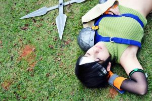 Yuffie Kisaragi | A little rest... by yu-kisaragi