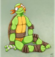 Michelangelo by Haizley