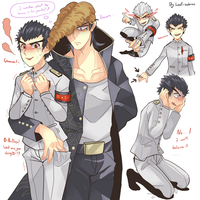 Ishimaru random draw by Leaf-subway