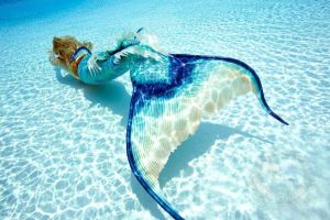 Mermaid Melissa Underwater by MermaidMelissaLLC