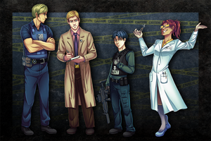 SnK Law Enforcement AU by MidoriEyes