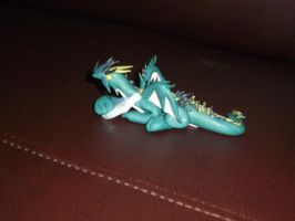 Green Dragon by spot1the2dog3