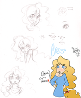 Cress Doodles by kimbeepancake