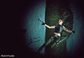 Lara Croft by RubinFreddy