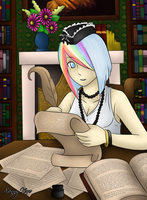 Gaia- In the Study by Kuro-Productions