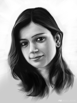 Nupur (Value Study) by RahulUjjal