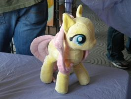Fluttershy plushie by AllysonCarver