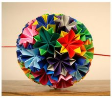 Plain Kusudama by wastedlimes