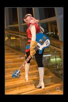 Haruko - Stair Stepping by Kuragiman