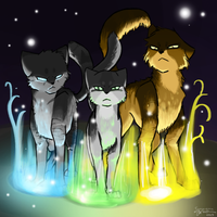 Power of Three by RoseyTail