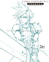 Promo--Cloud Pencils. by FF7Online