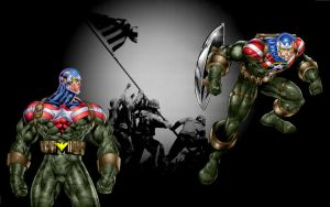 Fighting/Agent America/n desktop by Grebo-Guru
