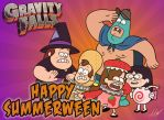 Happy Summerween from Gravity Falls by MartinsGraphics