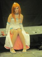Orihime Wedding Dress by Rebeckalah