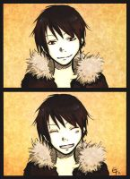 Smile, Izaya. by Tuktsuki