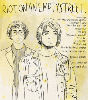 riot on an empty street by AFDROBOY