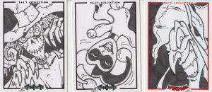 SKETCH CARDS - Commission by Manthomex