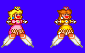sprite tickle 2: princesses by guy122