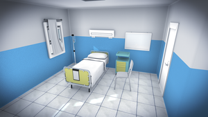 Wip Eddsworld - Room Hospital by Latyprod
