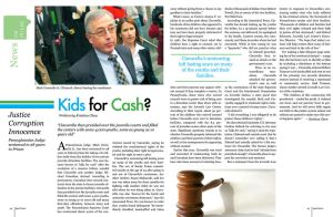 Kids for Cash Magazine Spread by SeeMooreDesigns