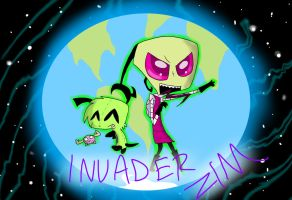 Invader Zim by KaziaBlaze