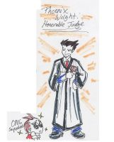 Phoenix Wright: Ace JUDGE by therichnobody
