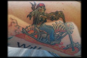 Pale Rider by Omedon