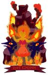 The Fire Kingdom by hoity-toity-holiday