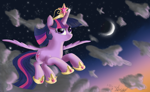 Flight at Twilight by Angelstar7