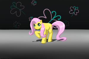 Fluttershy by weirdfuzzything