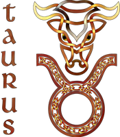 Celtic Knot Taurus by KnotYourWorld