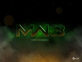 MW3 Logo Fan Art by Xiox231