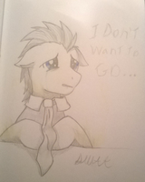 I Don't Want To Go... by DalekWithAKeyblade