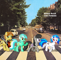 Abbey Road THE PONIES by Darkkon13